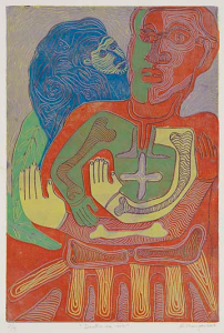 Dentro-de-mi.-Inside-of-me.-Color-reduction-linocut.-Karima-Muyaes-2007.1-202x300