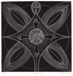 Plasma.-Linocut.-Karima-Muyaes-2011-288x300